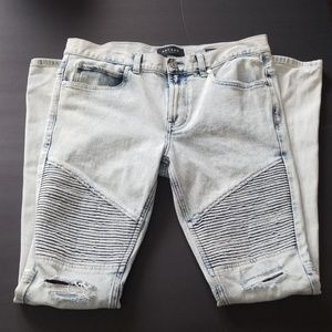 MEN'S PACSUN STACKED SKINNY JEANS SZ 31 X 32